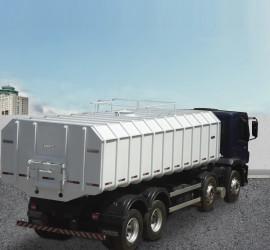 Basculante para transporte de cevada